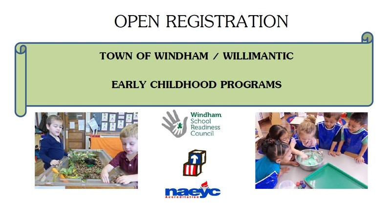 Early Childhood Center Open Registration for Children born in 2014 and 2015 Thumbnail Image