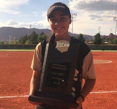 Daisy Gonzalez former Memorial pitcher