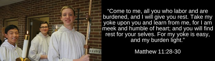 Bible Verse from Matthew 11:28-30