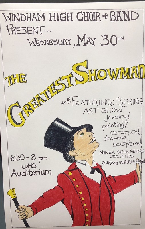 THE GREATEST SHOWMAN FEATURING SPRING ART SHOW Thumbnail Image
