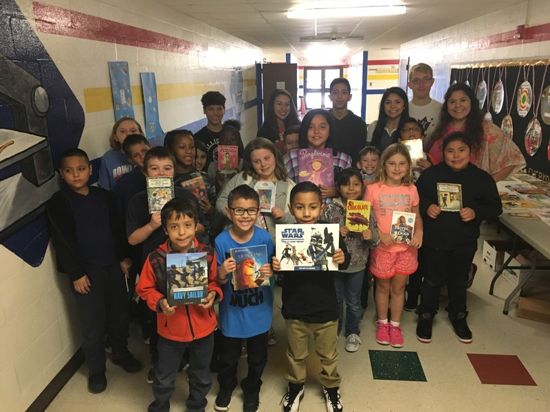 East Student Donates Books to Every Student at Rowland Thumbnail Image