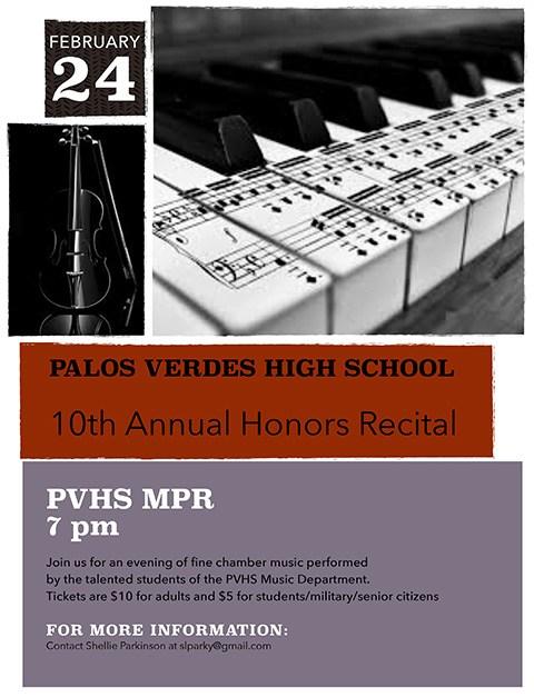 10th Annual Honors Recital | February 24 Thumbnail Image