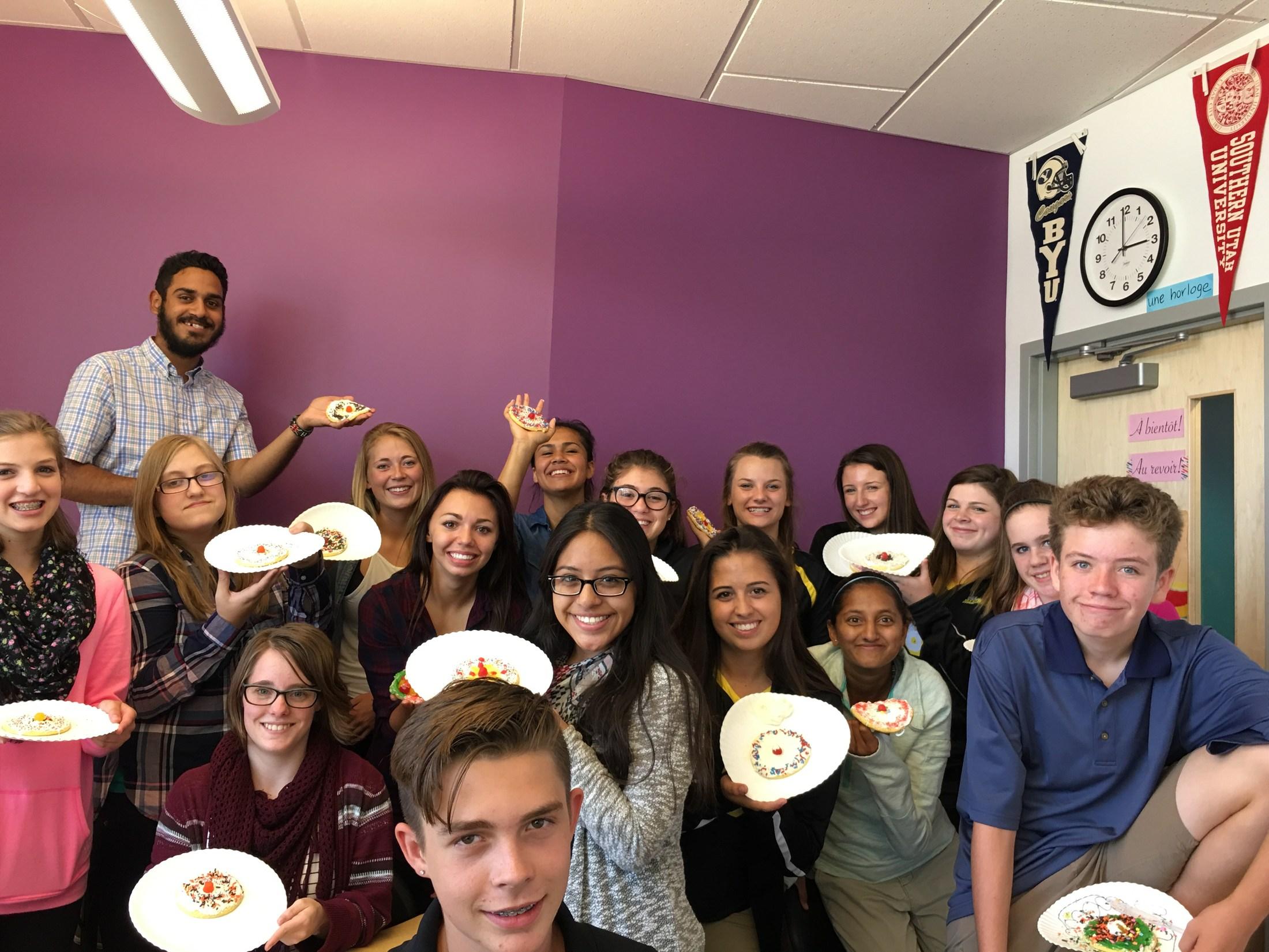Spanish Club  Sombrero Cookies!