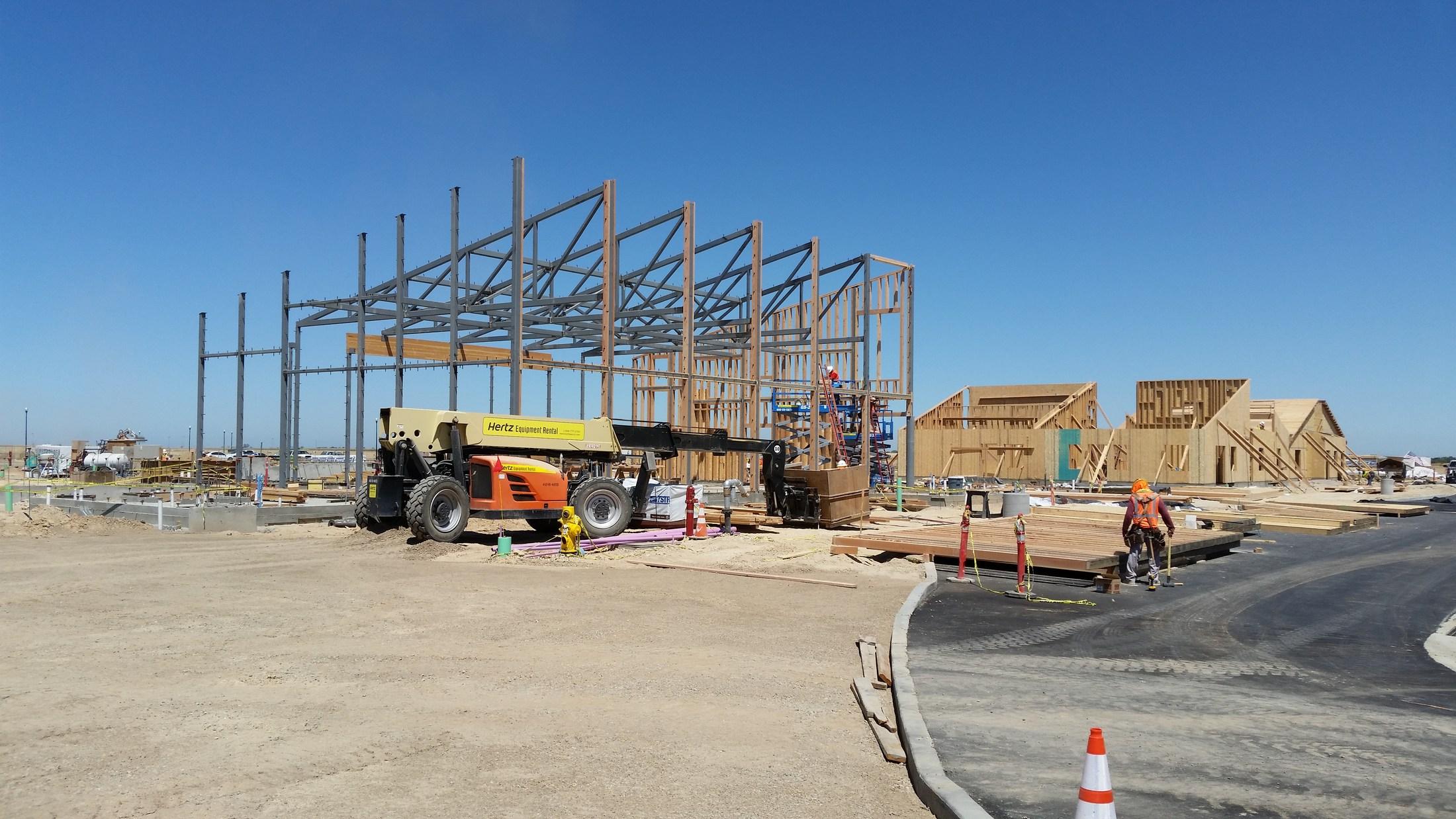 Roseville Sacramento Construction Begins On Kaiser