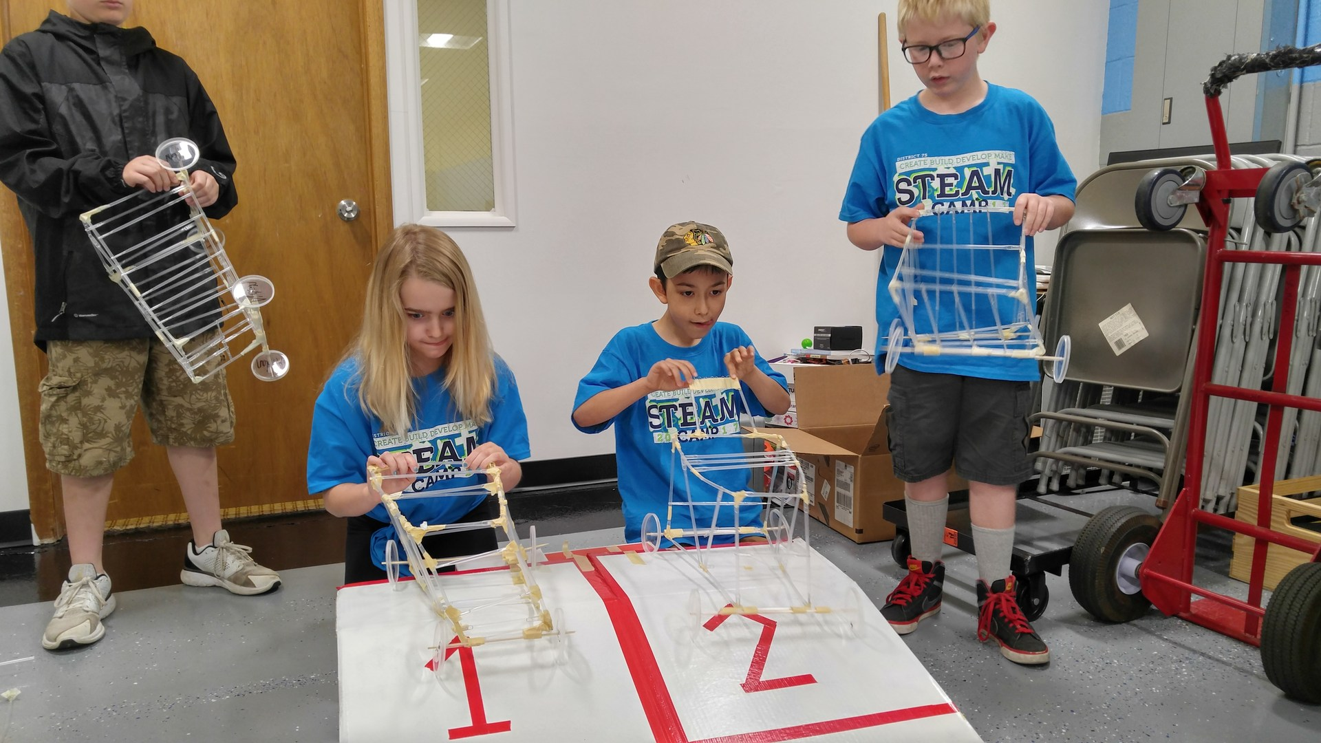 Steam Camp (Rockets, Robots, Roller Coasters, Race Cars)