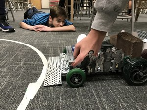 student robot