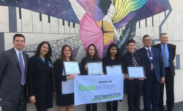 VAAS Exploravision 2nd Place Winners