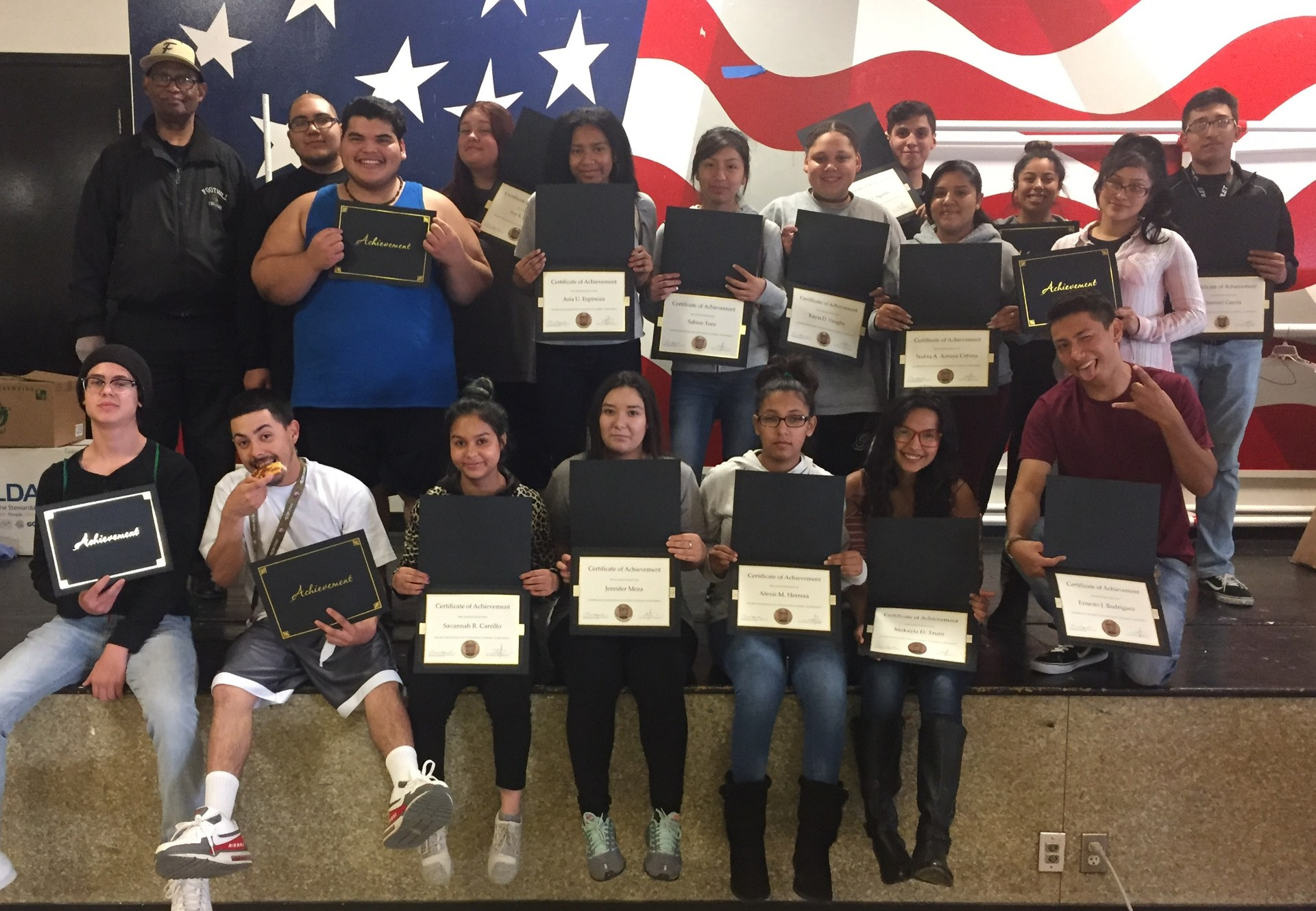 HONOR ROLL SESSION 3 2016-17 FOOTHILL