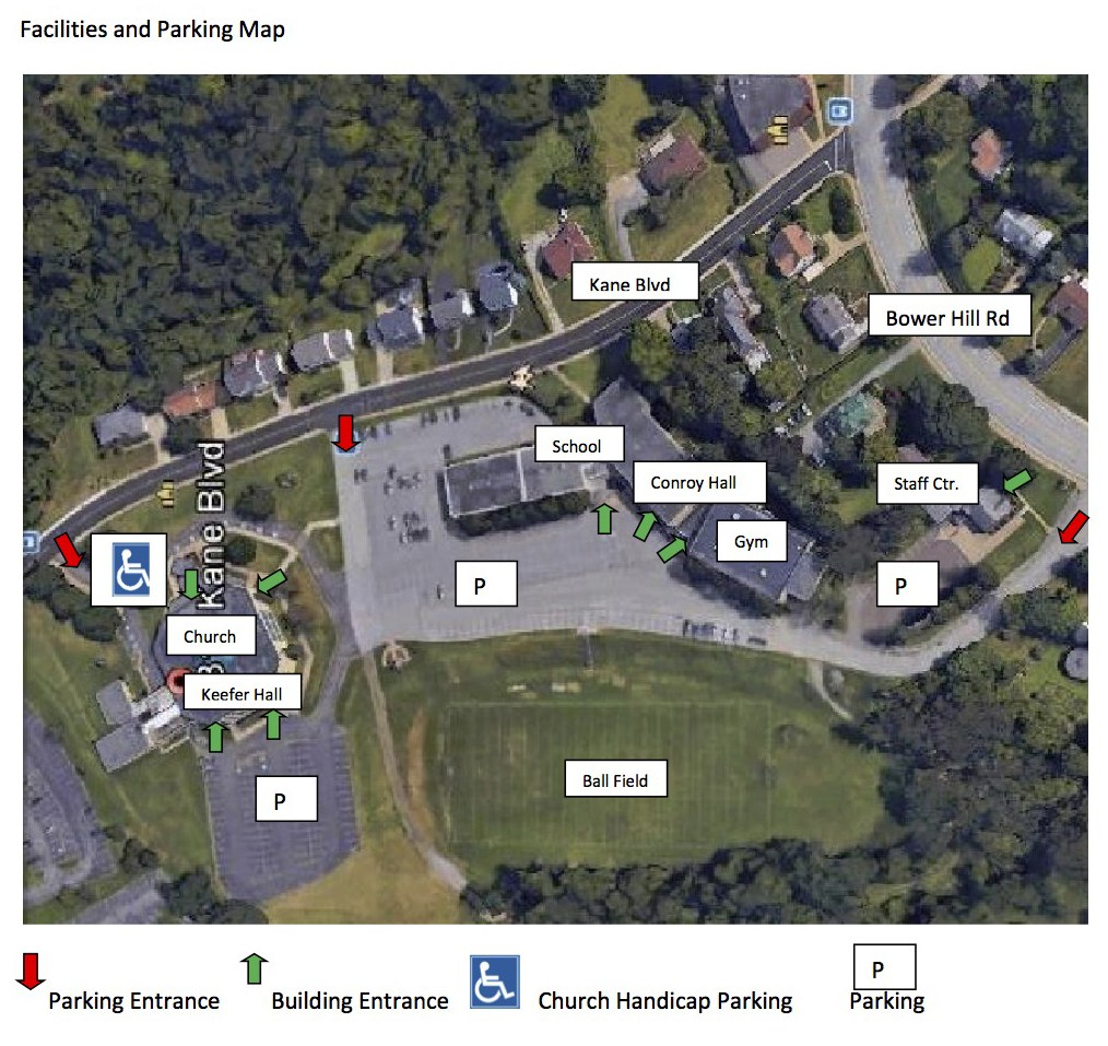 Facilities and Parking Map Find Us Our