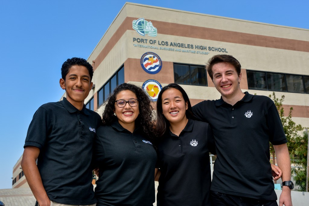School Reports – About – Port of Los Angeles High School (Pola)
