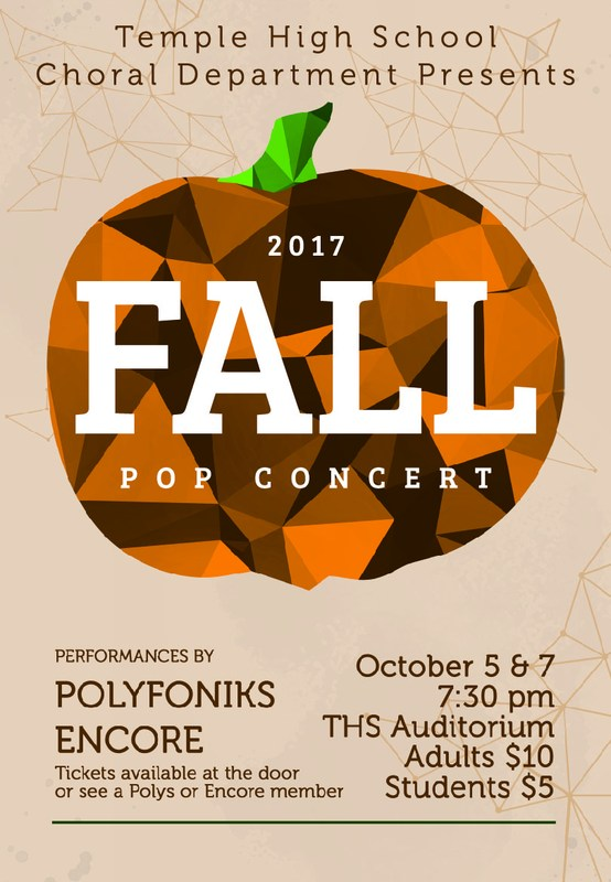 THS Choir Fall Festival