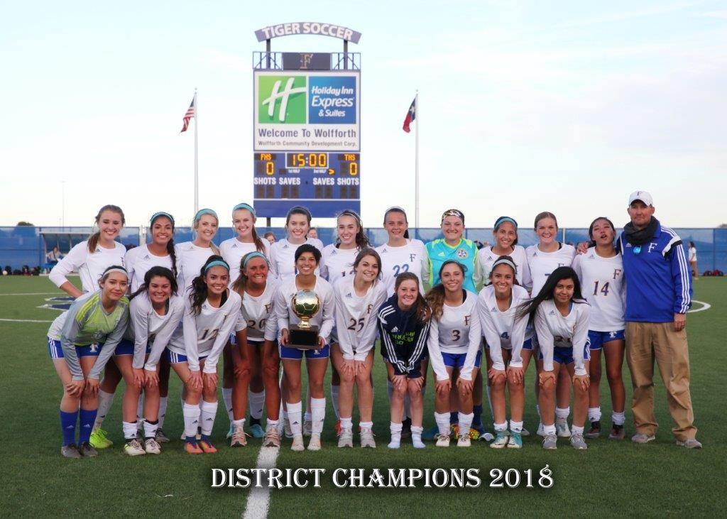 Frenship Girls Soccer District Champions