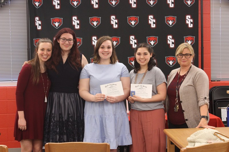 Students Inducted into Quill & Scroll International Honor Society Thumbnail Image
