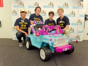 PJ Robotics team builds car