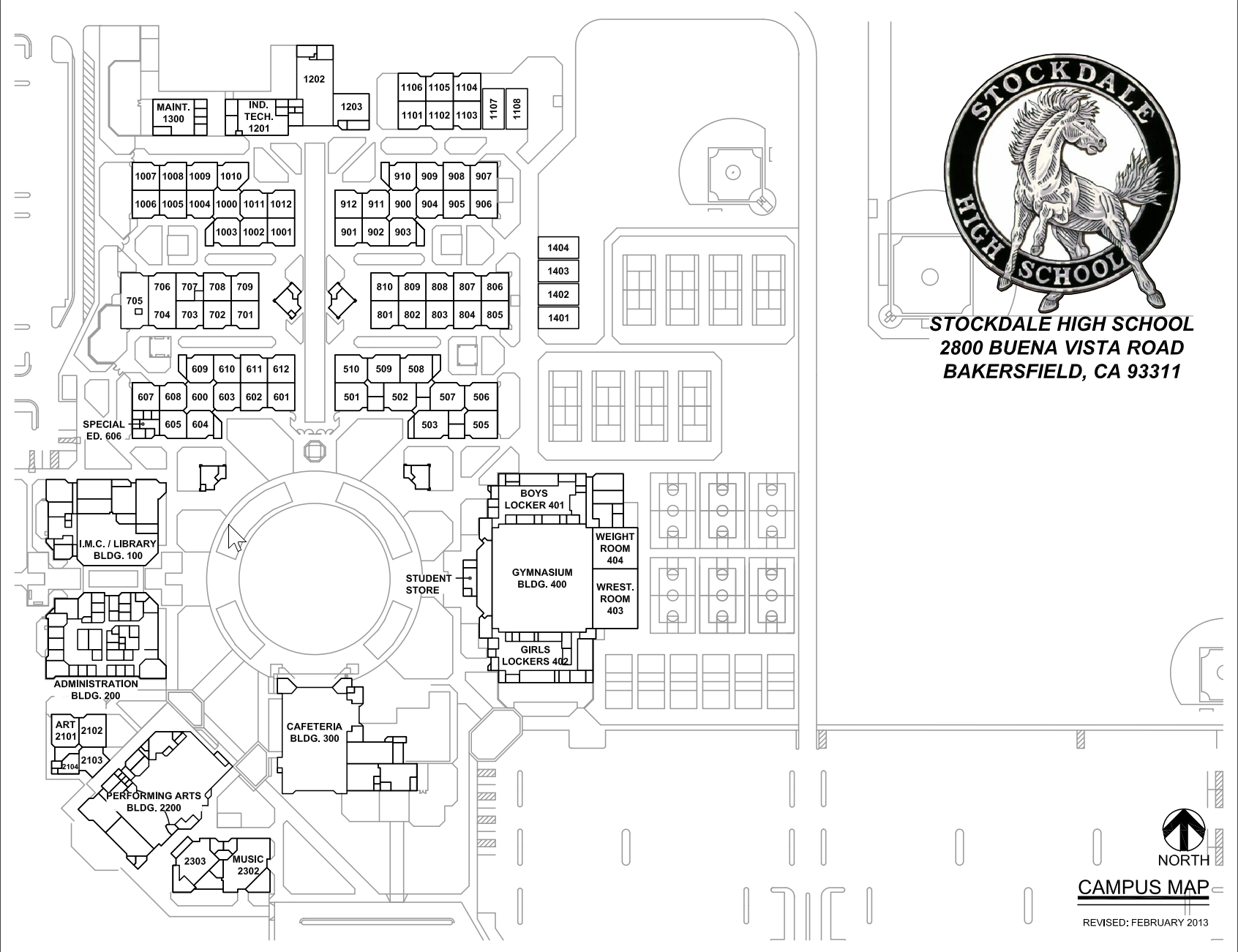 Campus Map – About – Stockdale High School