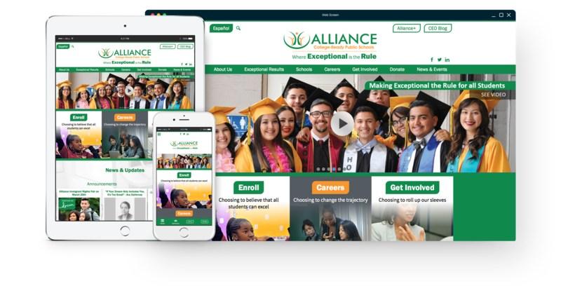 alliance college ready screenshot