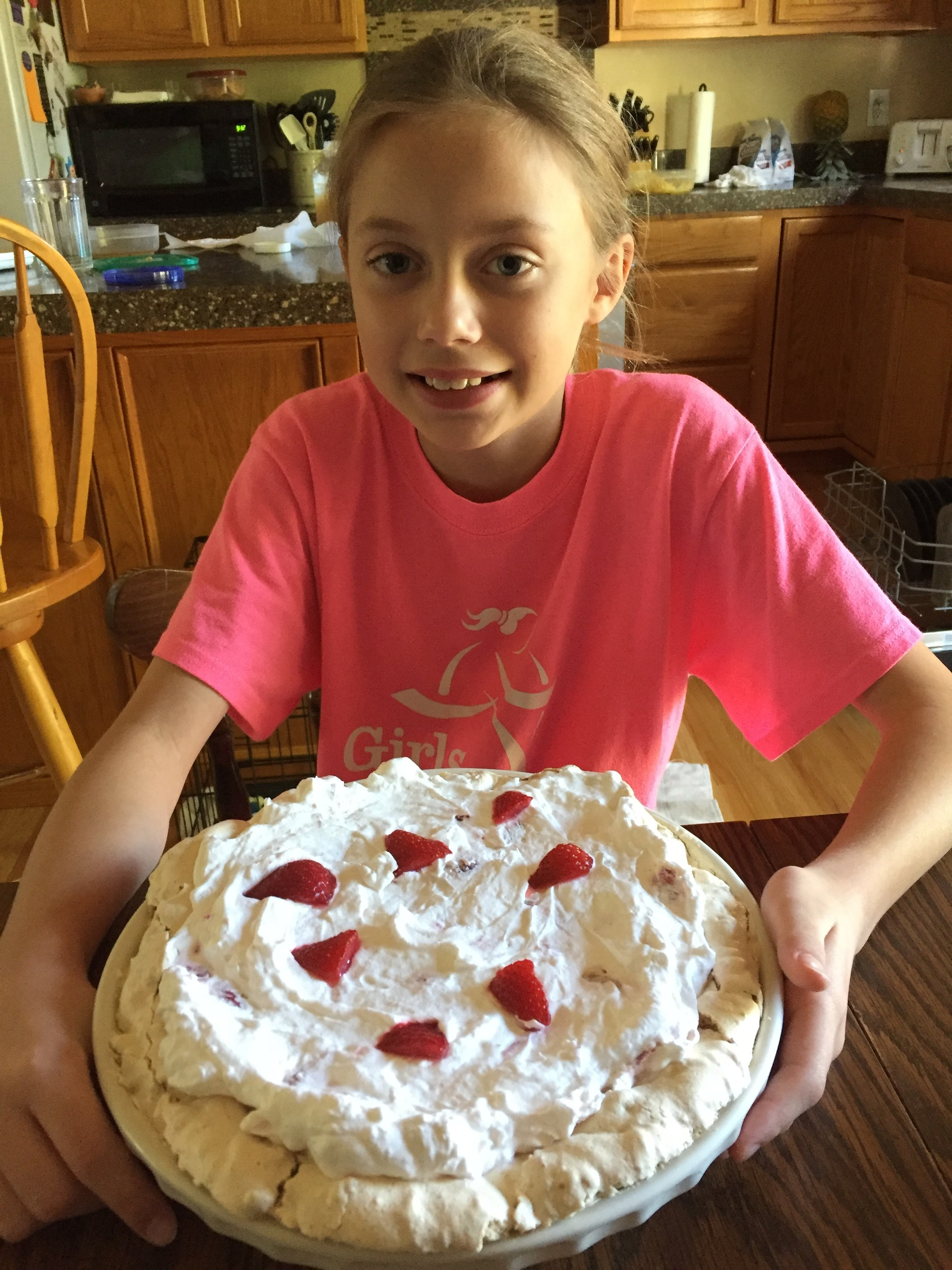 My daughter loves to bake!