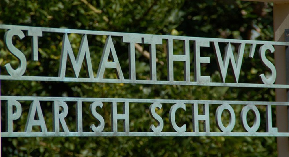 SMPS School Sign