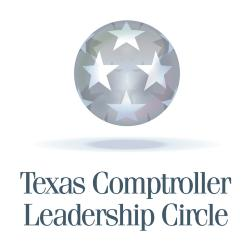 Texas Comptroller Leadership Circle Logo
