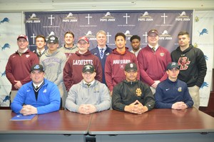 PJ Football players group picture NLI
