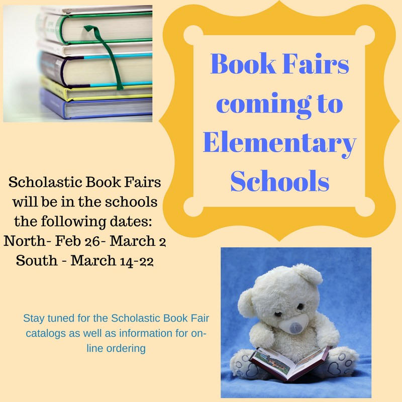 Book Fairs in the Elementary Schools Featured Photo