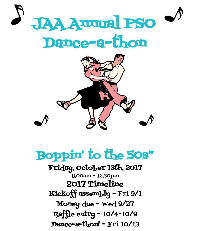 Dance-A-Thon – Parent Service Organization (PSO) – John Adams ...