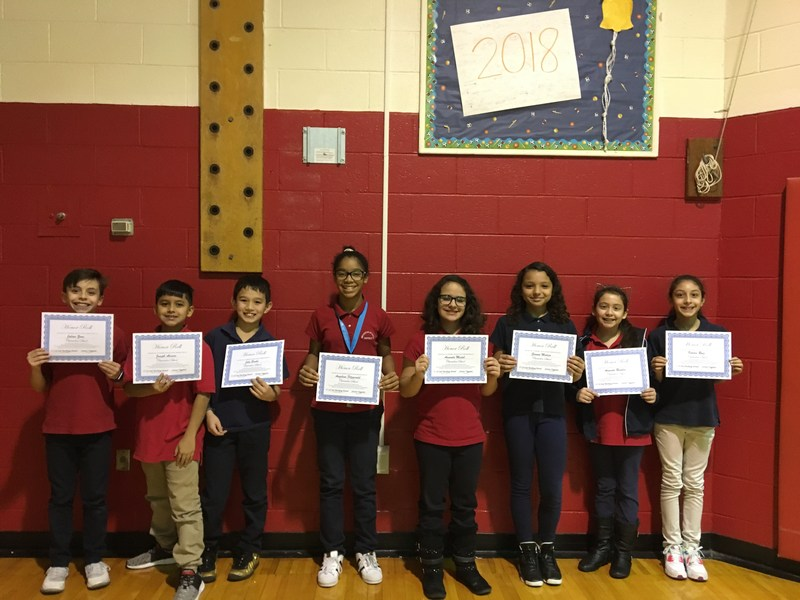 Clarendon 2nd Marking Period 4th and 5th Grade Honor Roll Students Thumbnail Image