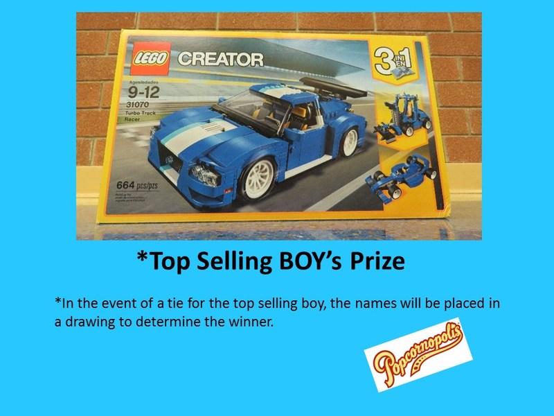 Top Selling Boy's Prize Thumbnail Image