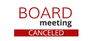 Board Meeting Cancel Notification