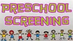 Pre-School Screening for 2017-18 school year Thumbnail Image