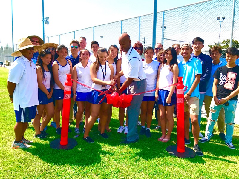 Walnut High celebrates new tennis courts Featured Photo