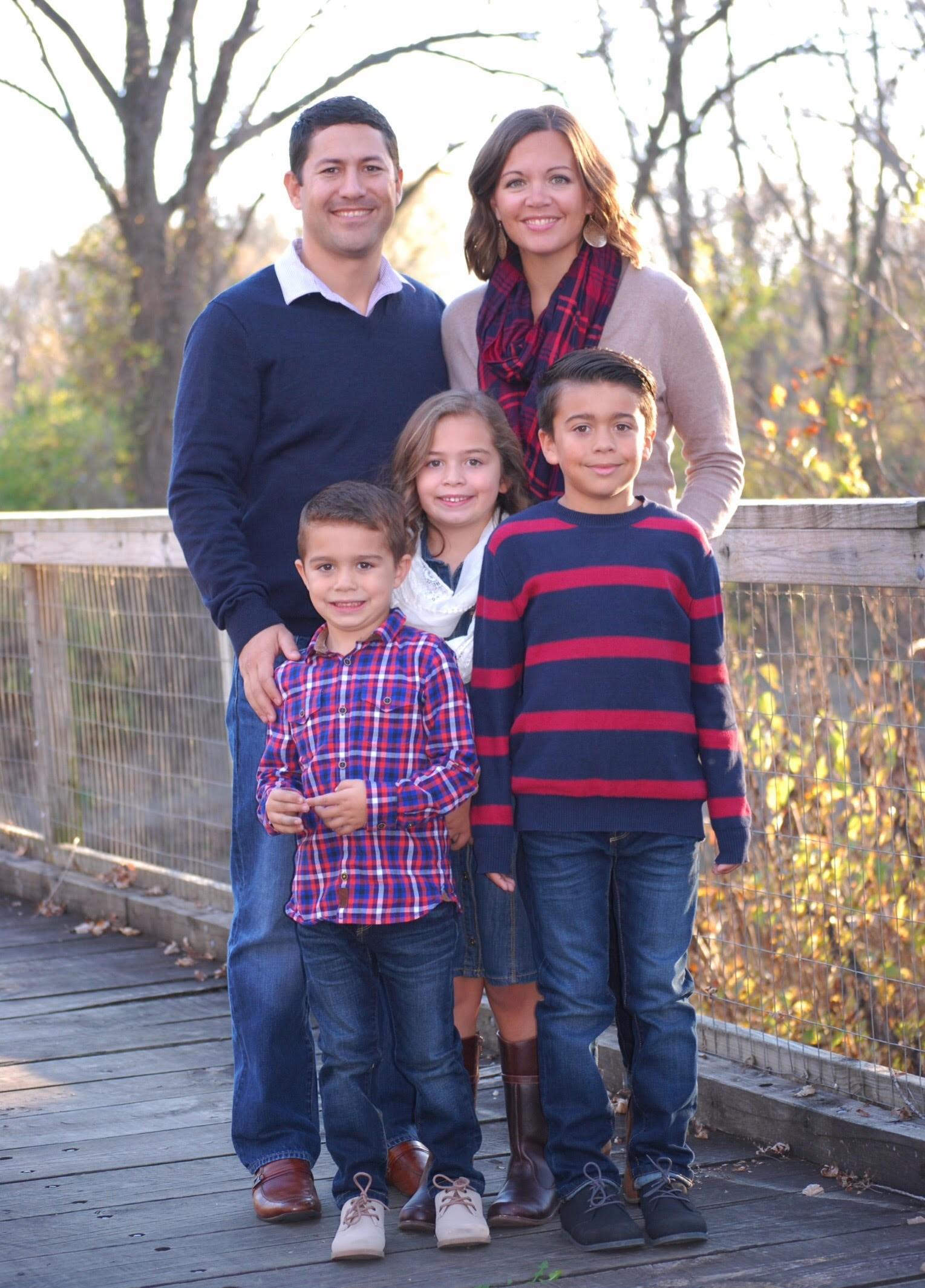 Fall family photo 2016