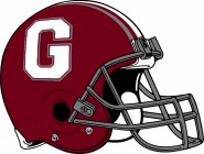 Dawgs football helmet with G logo clipart