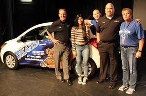 Leyla Rodriguez won a new car from Moritz Chevrolet.