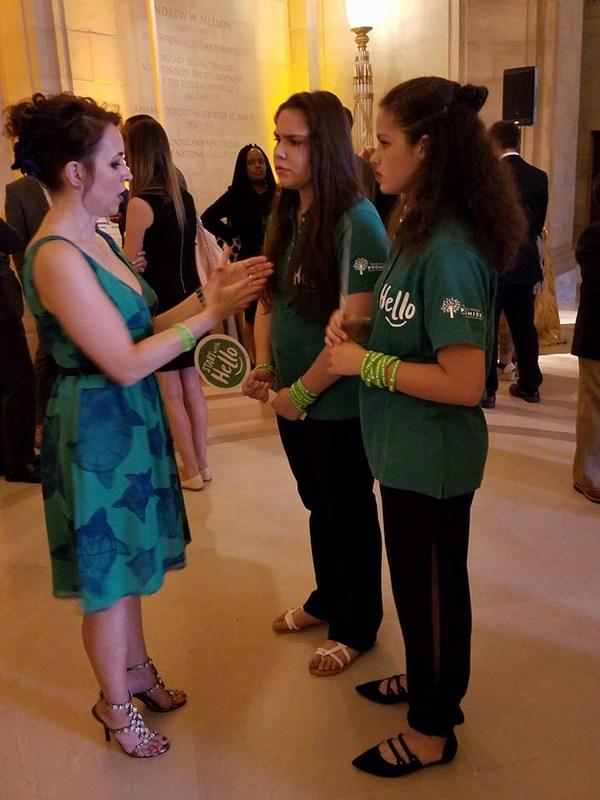 BMS Students and Staff Member Honored at Washington DC Gala Thumbnail Image