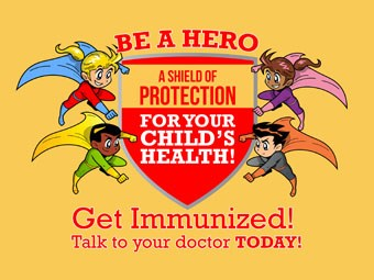 Be a Hero: Immunize your student