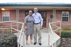STEM mentor, Dr. K. Renee Horton, and Dr. Cederick Ellis