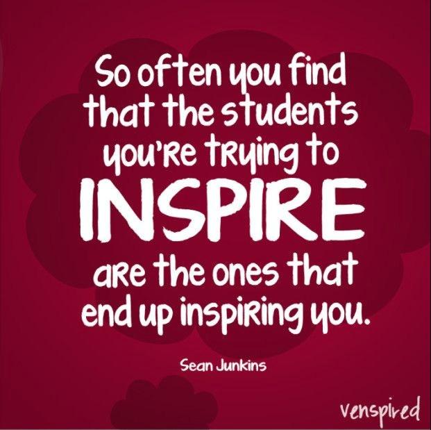 Students Inspire Teachers