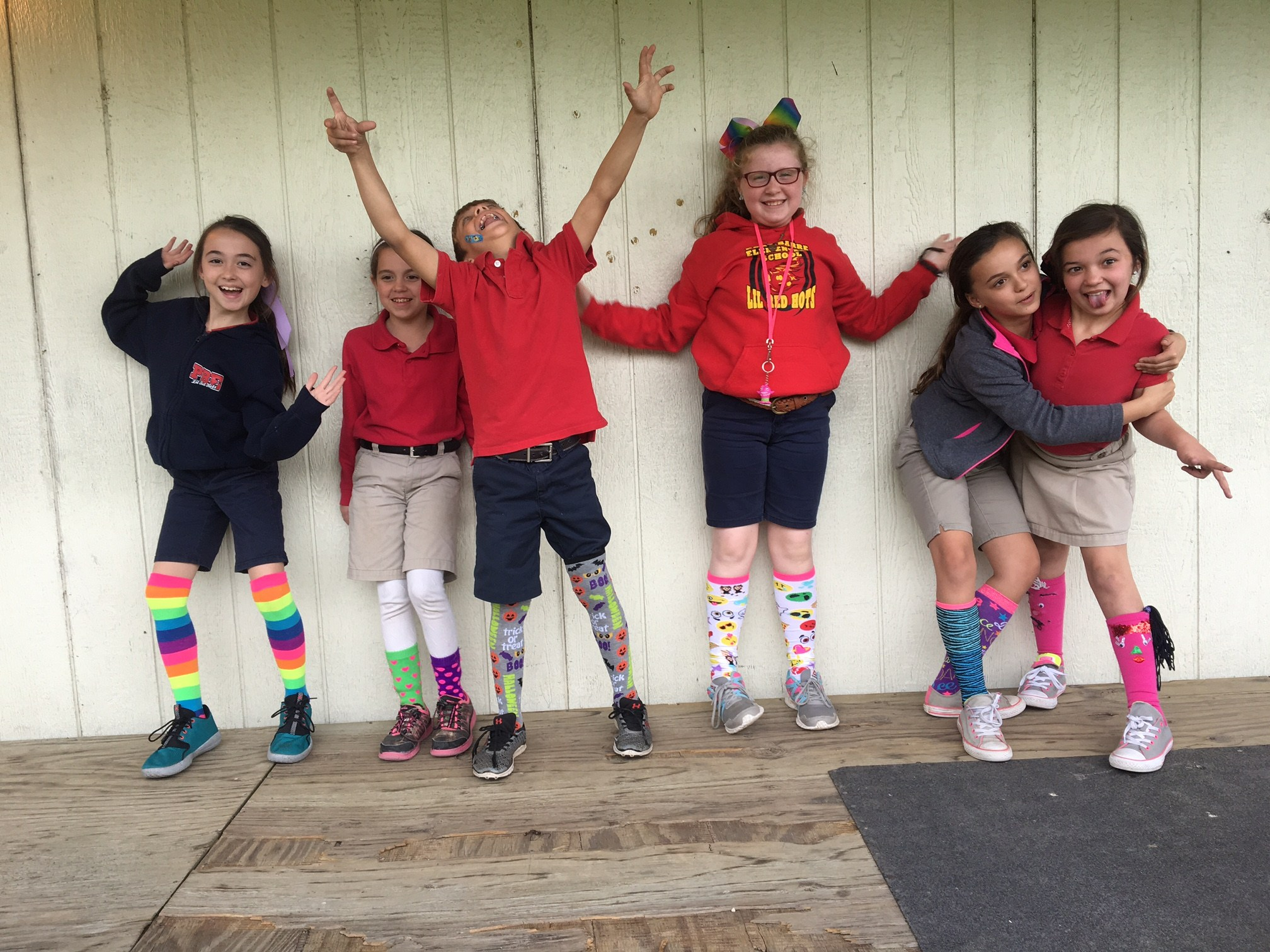 Crazy Sock Day for PBIS