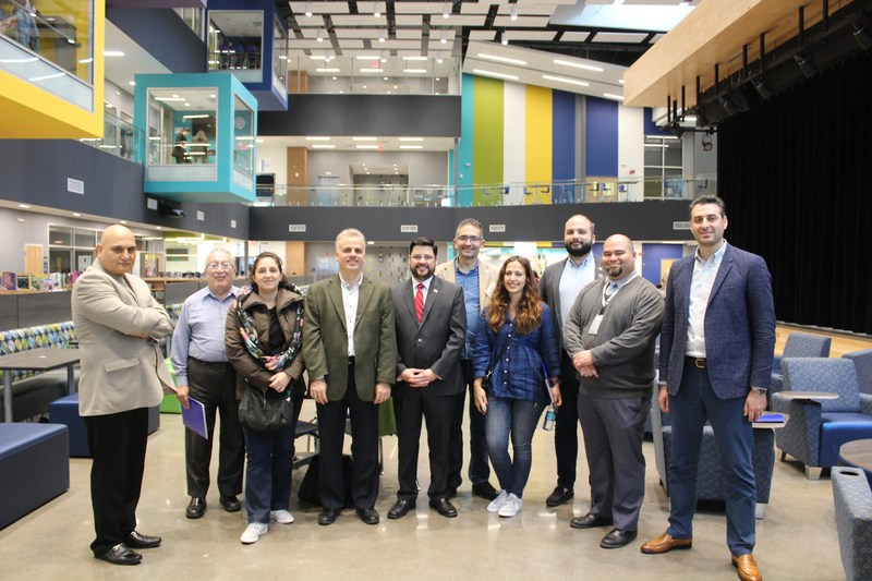 Manor New Tech High Demonstrates Curriculum Approach to Delegation from Lebanon Thumbnail Image