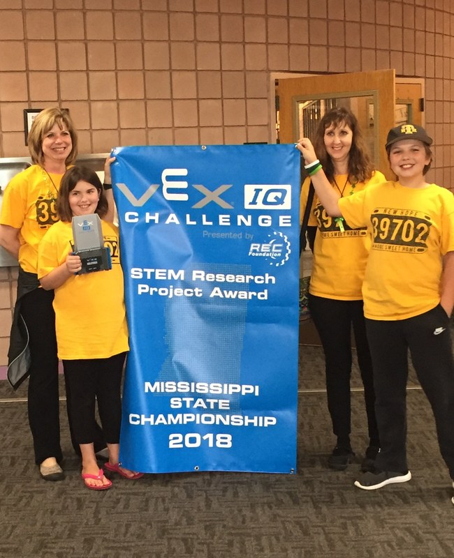 NHE Robotics Team 39702A STATE CHAMPS! Featured Photo