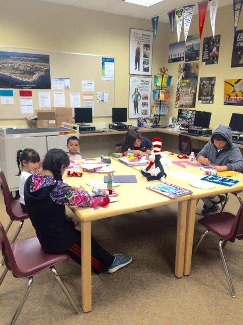 Mira Monte Center Children's Literacy class