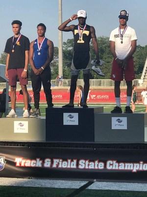 Marcus Cade State Triple Jump Champion