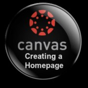 Canvas Creating a Homepage