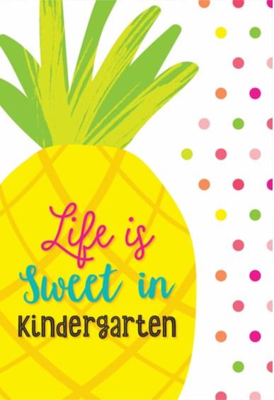 Life is Sweeter in Kindergarten