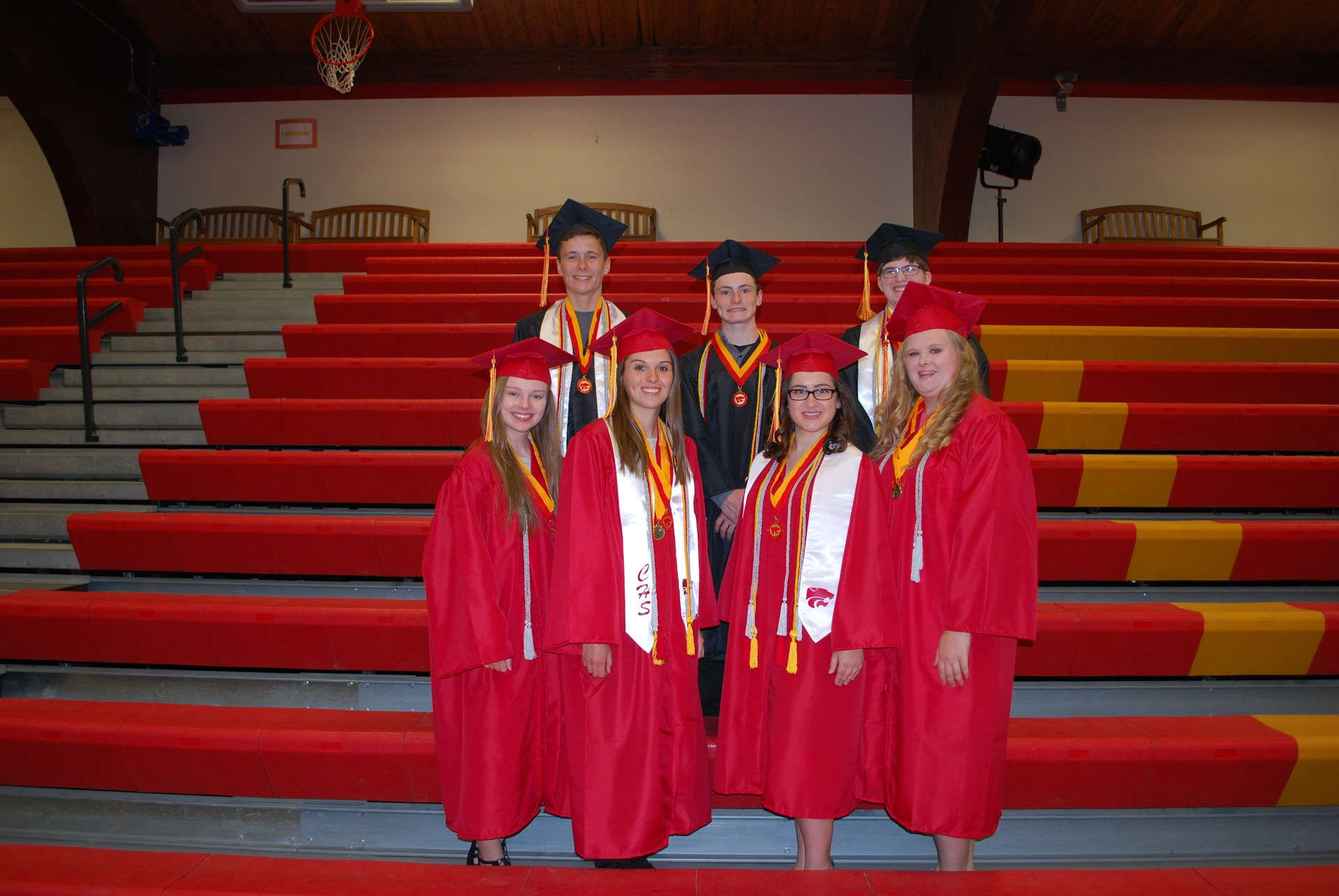 Class of 2017 Silver Cord Recipients