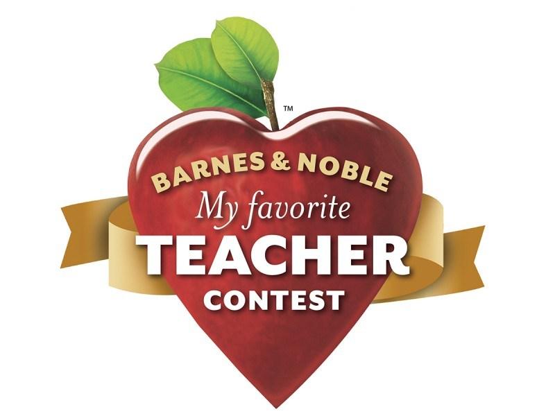Barnes and Noble Essay Winner and her favorite teacher Thumbnail Image