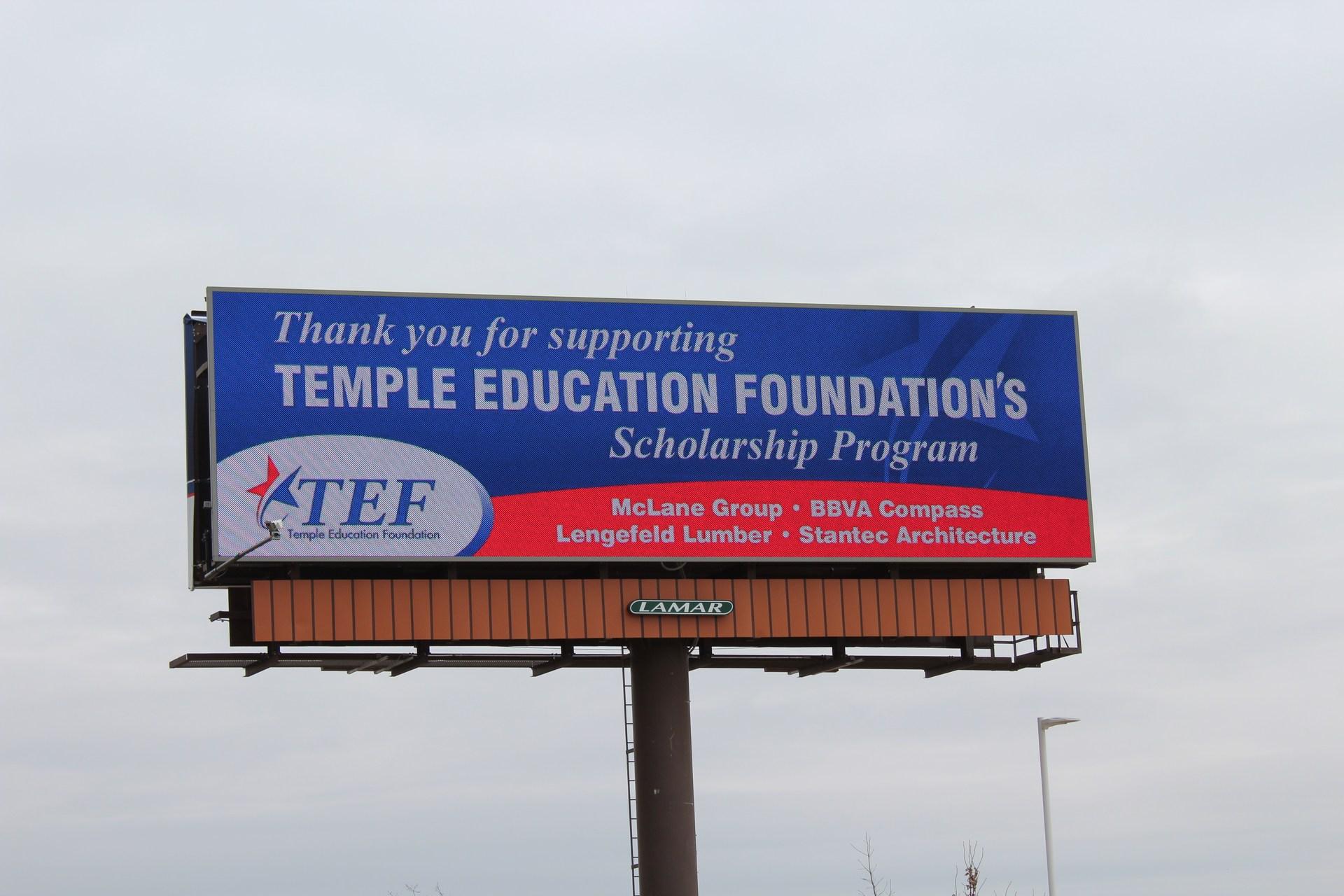 TEF Billboard