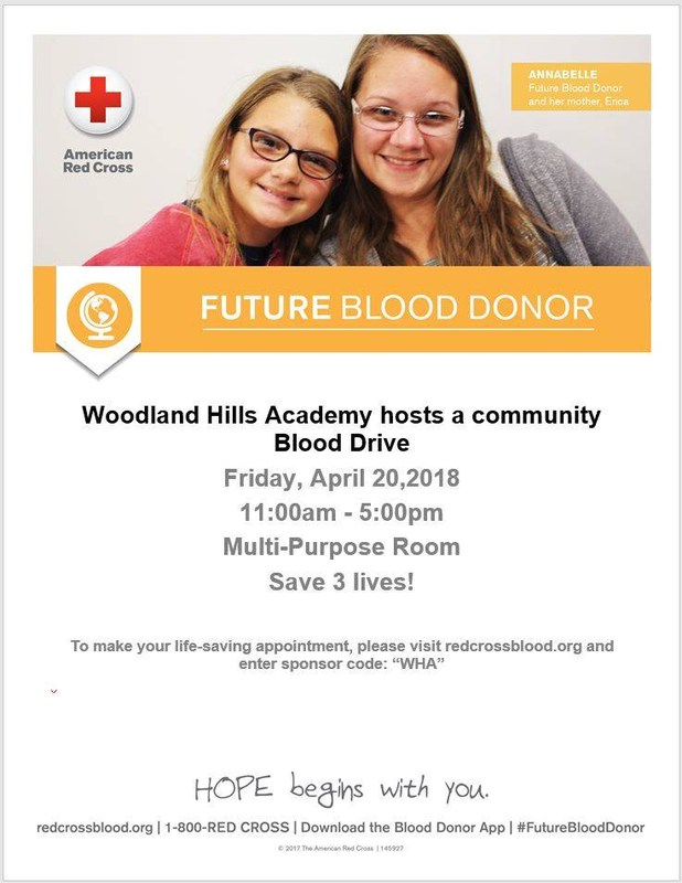 Red Cross Blood Drive - Friday, April 20th 11-5pm Thumbnail Image
