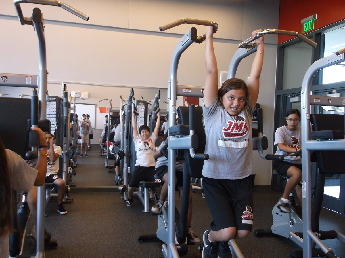 Students Working Out
